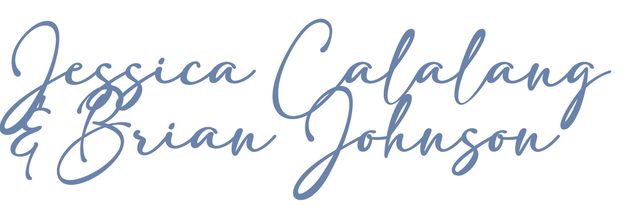 Jessica Calalang & Brian Johnson